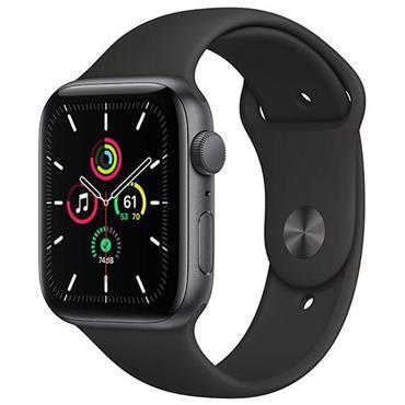 Apple Watch Se 44mm Grey Case / Black Band