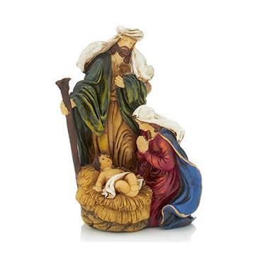 14x10cm Holy Family Nativity