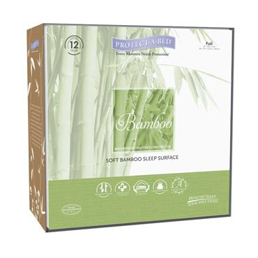 Protect A Bed  Bamboo Terry  Mattress Protector Double