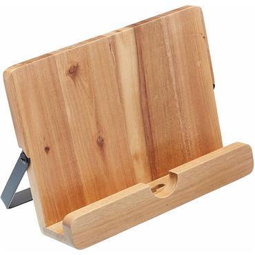 KitchenCraft Natural Elements Acacia Wood Cookbook Stand