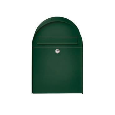 Burg Wachter Post Box Nordic 475Mm Green Galvanised Steel