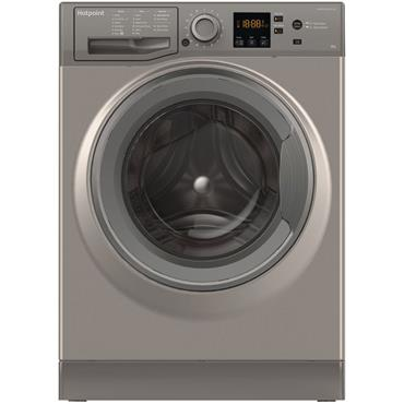 Hotpoint 8kg 1400 Spin Graphite Washing Machine