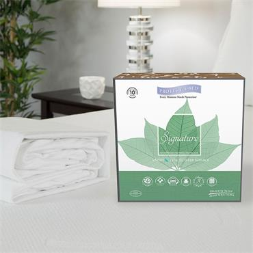 Protect A Bed Tencel Signature Mattress Protector Double