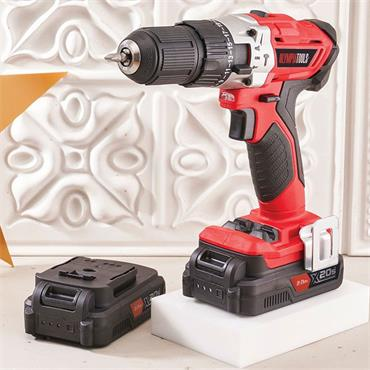 Olympia 20v Combi Drill & Twin Battery Bundle