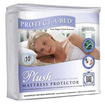 Protect A Bed  Plush Mattress Protector Single