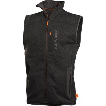 Husqvarna Mens Vest Fleece Granite Grey