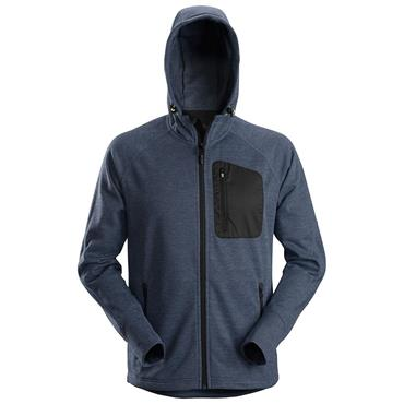 Snickers 8041 Hooded Fleece Navy