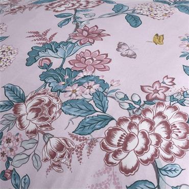 Catherine Lansfield Peony Gardens Pink Duvet Set