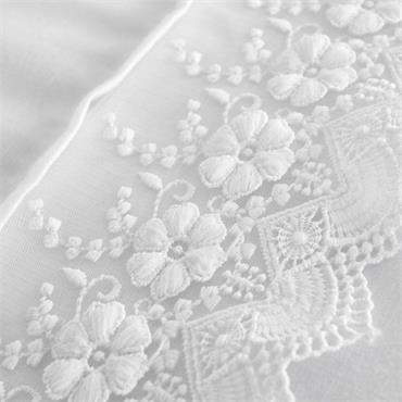 Catherine Lansfield Delicate Lace White Duvet Set