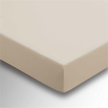 Helena Springfield Plain Dye Fitted Sheet Deep Stone