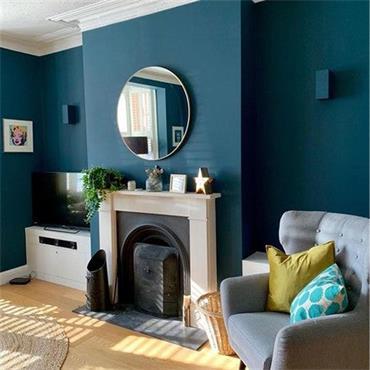 Farrow & Ball Hague Blue No.30 Exterior Eggshell