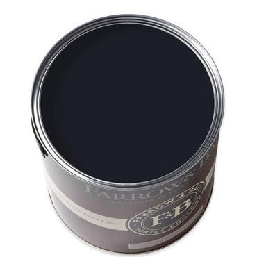Farrow & Ball Pitch Black No.256 Exterior Eggshell