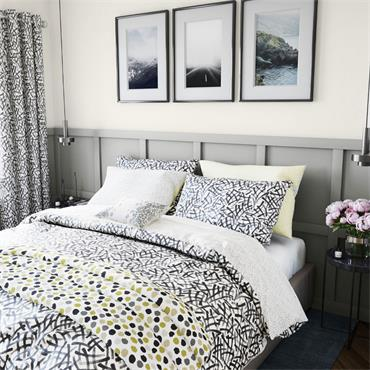 Helena Springfield Anise Duvet Cover Set Charcoal