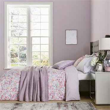 Katie Piper Calm Daisy Duvet Cover Set Pink-Lilac