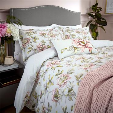 Peony Blossom Duvet Cover Set