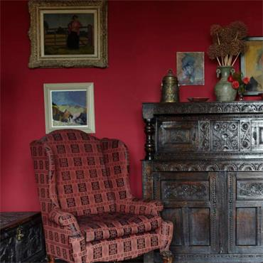 Farrow & Ball Rectory Red No.217 Estate Eggshell