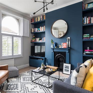 Farrow & Ball Stiffkey Blue No.281 Estate Emulsion