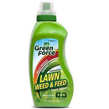 Hygeia Greenforce Lawn Weed & Feed 1L