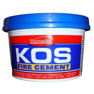 Everbuild Kos Black Fire Cement 1kg