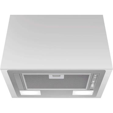 Hotpoint 60cm Canopy Hood (charcoal Incl)