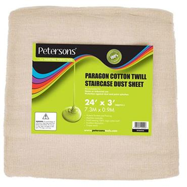 """Petersons Paragon Cotton Staircase Dust Sheet 24"""" x 3"""""""