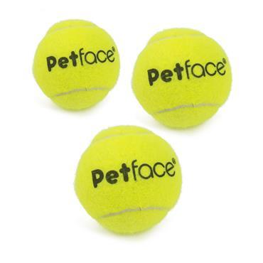 PetFace Tennis Balls 3pk