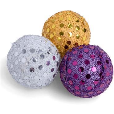 Petface Glitter Balls 3pk