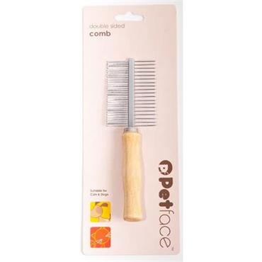 Petface Double Sided Comb