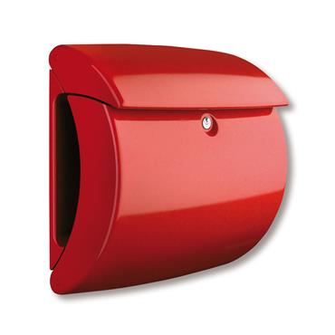 Burg Wachter Post Box Piano Red Polymer