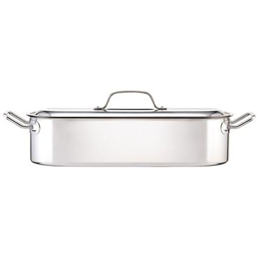 KitchenCraft Clearview Fish Poacher Stainless Steel 45cm