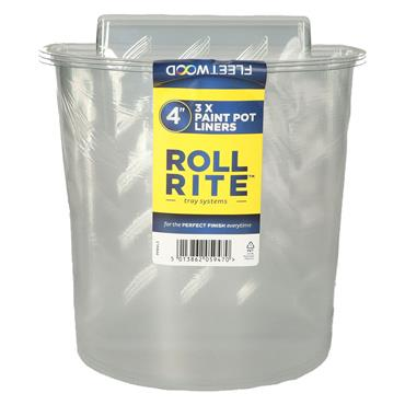 Fleetwood Roll Rite 4' 3 Pack Paint Pot Liners