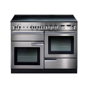 Rangemaster Professional+ 110 Ceramic All Electric Stainless Steel