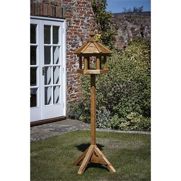 Tom Chambers Bird Gazebo Wooden Roof Table With Post