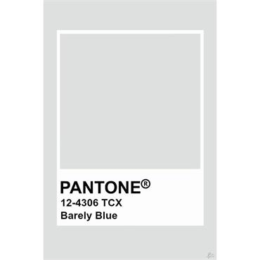 Pantone Sample Pot Barely Blue
