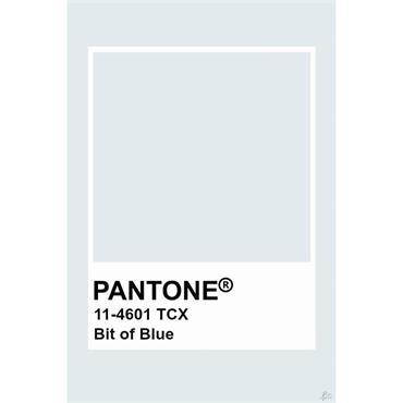 Pantone Sample Pot Bit Of Blue