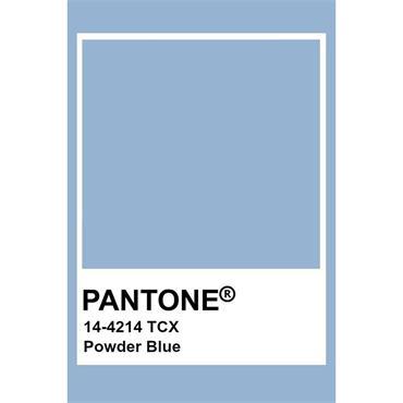 Pantone Sample Pot Powder Blue
