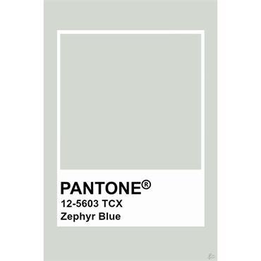 Pantone Sample Pot Zephyr Blue