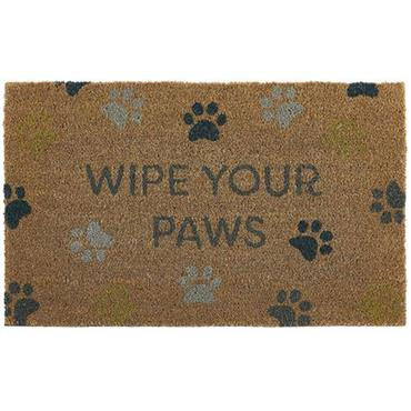 My Mat Coir Wipe Your Paws 45 x 75cm