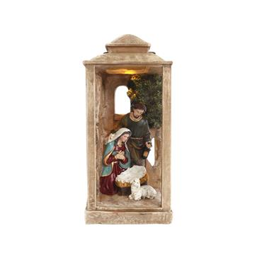 Decorative Lantern  Nativity