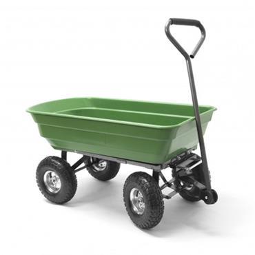 Q Garden Poly Garden Cart 150KG Load Tipping