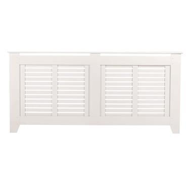 Rhode Island White Radiator Cabinet Large
