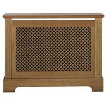Georgian Oak Radiator Cabinet Small