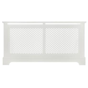 Georgian White Radiator Cabinet Medium