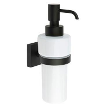 House Black Soap Dispenser