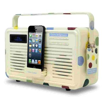 View Quest Retro Radio DAB+ Emma Bridgewater Polka Dot Design