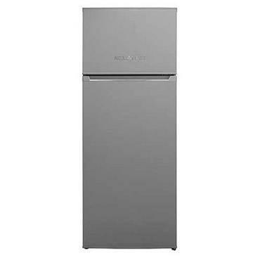 Nordmende 54cm Freestanding Fridge Freezer Silver