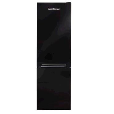 Nordmende Fridge Freezer Black 54cm