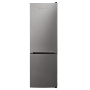 Nordmende 54cm Fridge Freezer Low Frost Silver