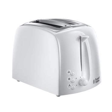 Russell Hobbs Textures 2 Slice White Toaster