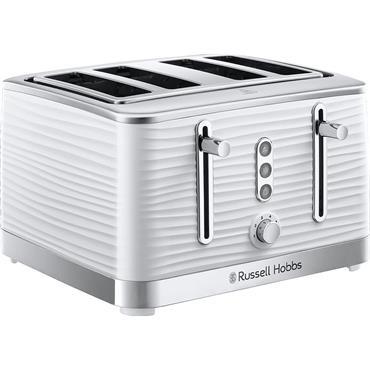 Russell Hobbs Inspire 4-Slice White Toaster
